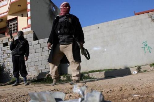 Fallujah Islamic Fighters control city 44km west of Baghdad