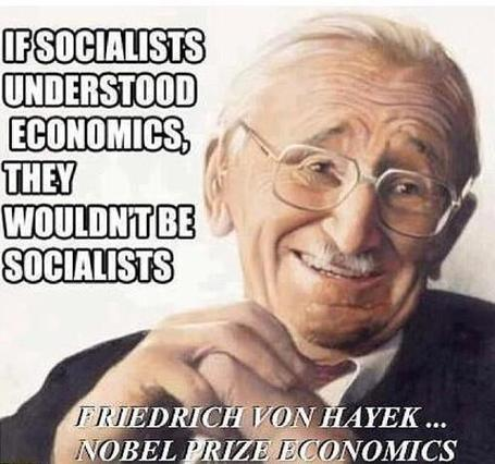 Friedrich Hayek - If Socialists understaood Economics they wouldn't be Socialists